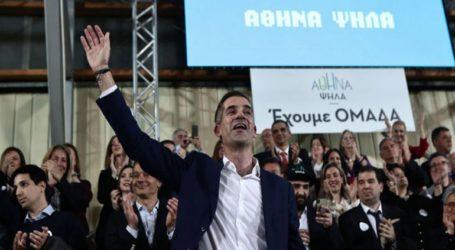 Ο Κώστας Μπακογιάννης παρουσιάζει το πρόγραμμα του συνδυασμού «Αθήνα Ψηλά»