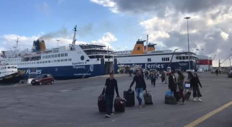 Το Superferry II επέστρεψε στο Ηράκλειο λόγω βλάβης
