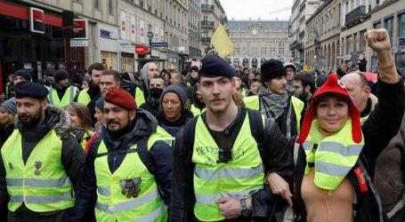 Περισσότεροι από 60.000 αστυνομικοί έχουν αναπτυχθεί εν όψει των διαδηλώσεων των «κίτρινων γιλέκων»