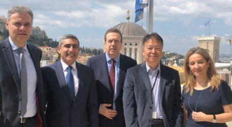Συνάντηση μελών της ΕΣΕΕ με τον πρέσβη της Ιαπωνίας