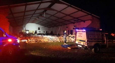 Κατέρρευσε εκκλησία στη Νότια Αφρική