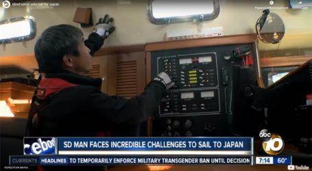 Ένας Ιάπωνας έγινε ο πρώτος τυφλός πραγματοποίησε τον διάπλου του Ειρηνικού Ωκεανού