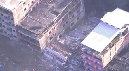 Στους 22 οι νεκροί από την κατάρρευση κτηρίων σε φαβέλα του Ρίο ντε Τζανέιρο