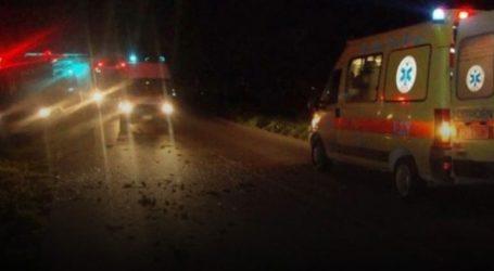Εγκλωβίστηκε στα συντρίμμια του αυτοκινήτου έπειτα από τροχαίο