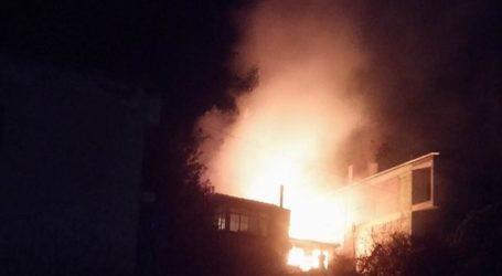 Σέρβια Κοζάνης: Πυρκαγιά σε σπίτι