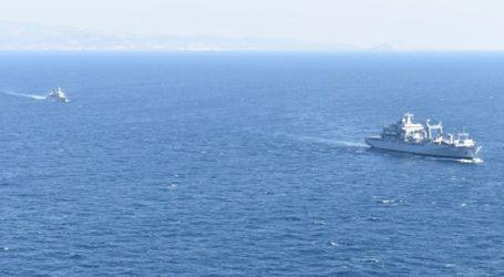 Κοινές ασκήσεις του ελληνικού με το γερμανικό πολεμικό ναυτικό στο Αιγαίο