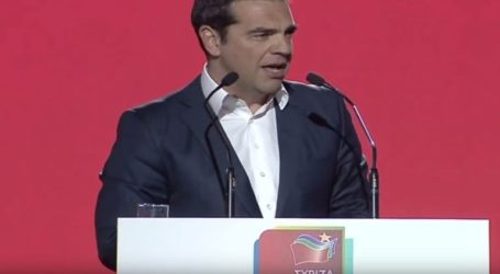 H παρουσίαση του ευρωψηφοδελτίου του ΣΥΡΙΖΑ
