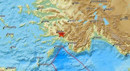 Σεισμική δόνηση 4,2R στη δυτική Τουρκία