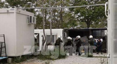 Αιφνιδιαστική επιχείρηση της αστυνομίας στο κέντρο προσφύγων του Ελαιώνα