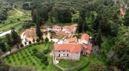 Πυρκαγιά κοντά σε ιστορικό μοναστήρι στο Ηράκλειο
