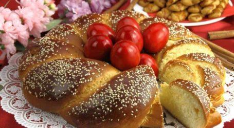 Περίπου 7,5 εκατομμύρια τσουρέκια θα καταναλωθούν για το Πάσχα