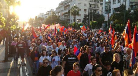 Πορεία διαμαρτυρίας στην Ουάσινγκτον για την αναγνώριση της γενοκτονίας των Αρμενίων