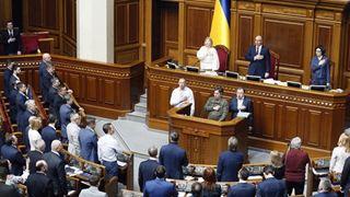 Εγκρίθηκε νόμος που καθιερώνει την ουκρανική ως επίσημη γλώσσα