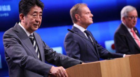 Βρυξέλλες και Τόκιο συμφώνησαν να συνεργαστούν στενότερα σε περισσότερους τομείς και να προωθήσουν μεταρρυθμίσεις στον ΠΟΕ