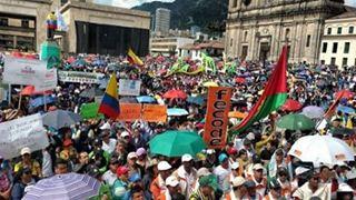 Επεισόδια και συλλήψεις στην Μπογκοτά σε διαδηλώσεις κατά του προέδρου Ντούκε