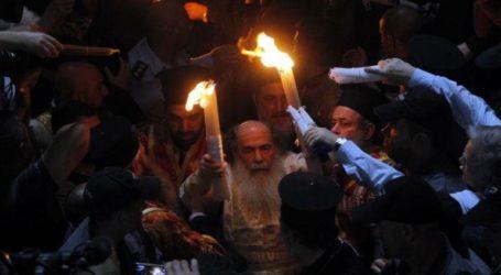 Στα Ιεροσόλυμα ο Μ. Μπόλαρης για το Άγιο Φως