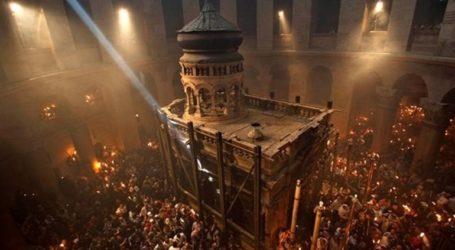 Παρακολουθήστε ζωντανά την τελετή αφής του Αγίου Φωτός στα Ιεροσόλυμα