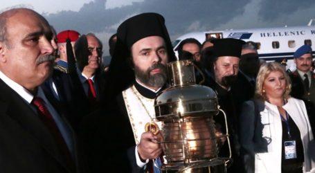Δήλωση Έξαρχου Παναγίου Τάφου εν Ελλάδι κ. Δαμιανού για την αφή του Αγίου Φωτός