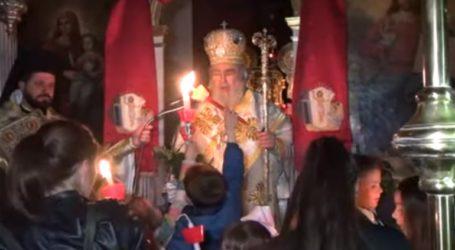 Ανάσταση στον Ιερό Ναό Ζωοδόχου Πηγής Μπόχαλης
