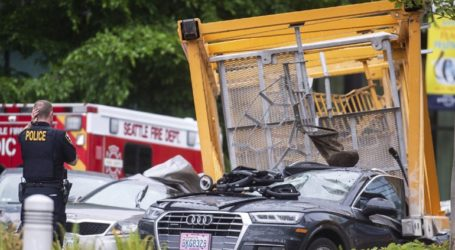 ΗΠΑ: Γερανός κατέρρευσε στο Σιάτλ