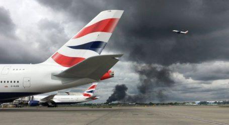 Πυρκαγιά κοντά στο αεροδρόμιο Χίθροου του Λονδίνου
