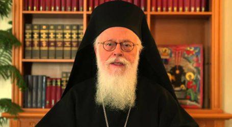 Στη δεξίωση του Αρχιεπισκόπου Αναστασίου ο Πρόεδρος Ιλίρ Μέτα