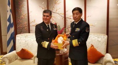 Παρουσία του Αρχηγού ΓΕΝ στις επετειακές εκδηλώσεις για την ίδρυση του Ναυτικού της Κίνας