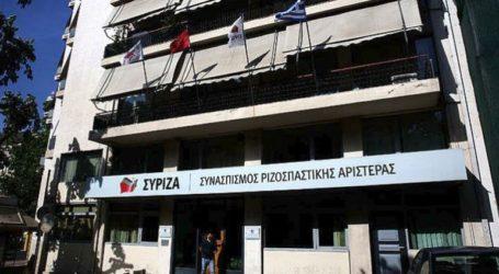 Άγνωστοι επιτέθηκαν με πέτρες στα γραφεία του ΣΥΡΙΖΑ
