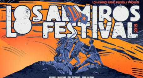 """""""8ο Los Almiros Festival 2019"""" 1 έως 3 Αυγούστου στον Αλμυρό Μαγνησίας"""
