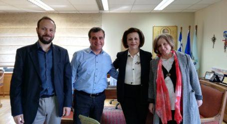Επίσκεψη στην Κόρινθο πραγματοποιεί η Μαρίνα Χρυσοβελώνη