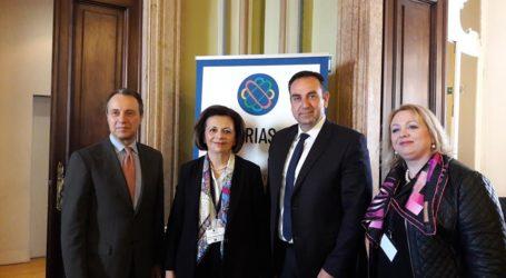 Σε συνέδριο στο Μιλάνο η Μ. Χρυσοβελώνη με αφορμή το Ευρωπαϊκό Πρόγραμμα ERIAS