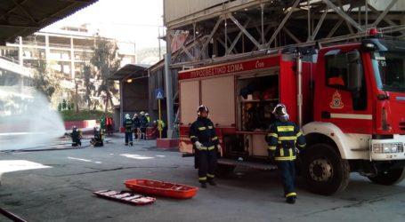 Βόλος: Εντυπωσιακή άσκηση της Πυροσβεστικής στην ΑΓΕΤ [εικόνες]