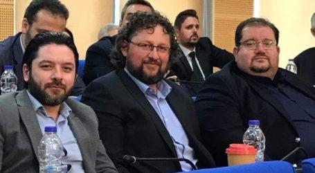 Στο Περιφερειακό Συμβούλιο ο Άκης Στάμος
