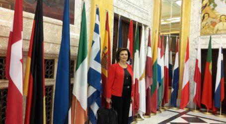 Εκπροσωπεί την Ελλάδα στην Ρουμανική προεδρία η Μαρίνα Χρυσοβελώνη