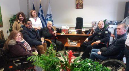 Εθιμοτυπική επίσκεψη «Ιππόκαμπου» στην Διεύθυνση Αστυνομίας Μαγνησίας