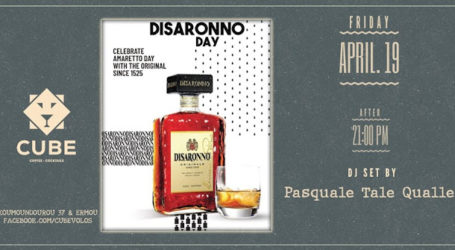 Disaronno «official» day στο Cube