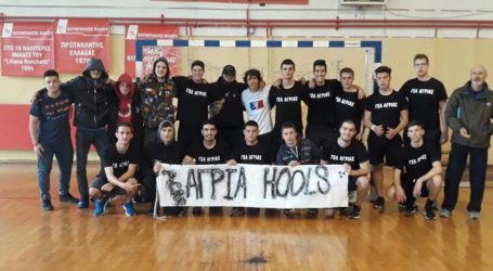 Προελαύνει στο πανελλήνιο σχολικό πρωτάθλημα χάντμπολ το ΓΕΛ Αγριάς