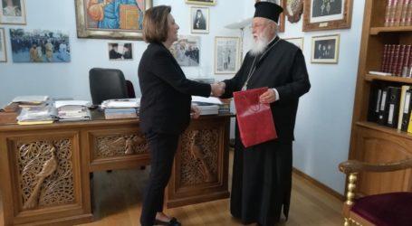 Υπηρεσιακή επίσκεψη της Μαρ. Χρυσοβελώνη στην Τρίπολη