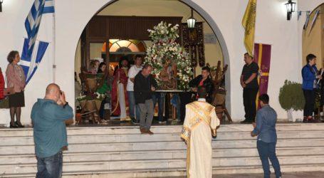 Στην Αγριά για την γιορτή του Αγίου Γεωργίου οι Αρχές του Βόλου [εικόνες]