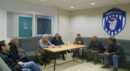 Τις εγκαταστάσεις της Νίκης Βόλου επισκέφθηκε κλιμάκιο της Λαϊκής Συσπείρωσης[εικόνες]