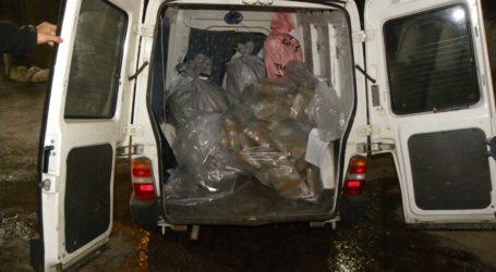 Καταστράφηκαν σήμερα εκατοντάδες κιλά ναρκωτικών στον Βόλο