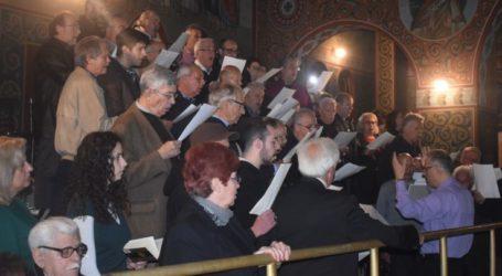 Το Τροπάριο της Κασσιανής έψαλλε ο Μουσικός Σύλλογος στον Ι. Ν. των Αγίων Τεσσαράκοντα στη Λάρισα (φωτο – βίντεο)