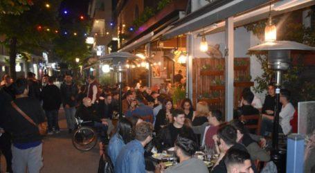 «Κατάνυξη» και στα… ουζερί το βράδυ της Μεγάλης Παρασκευής στη Λάρισα (φωτο)
