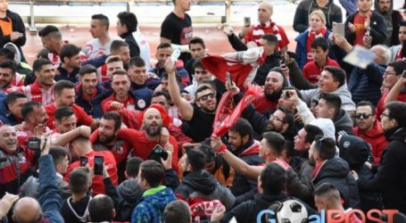 Την άνοδο στην Football League πανηγύρισε ο Ολυμπιακός Βόλου [εικόνες]