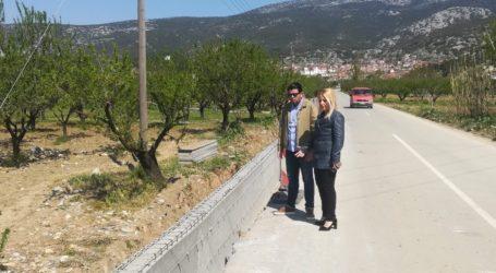 Εργασίες αποκατάστασης στο οδικό δίκτυο του Δήμου Ρήγα Φεραίου