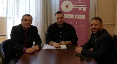 Ο Α. Μεϊκόπουλος με τον Δήμαρχο Αλοννήσου για την απόκτηση πλωτού ασθενοφόρου στις Σποράδες