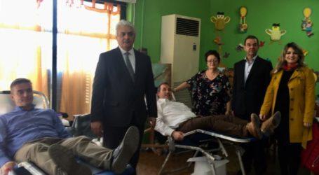 Κώστας Κολλάτος : Ο Δήμος Τεμπών στηρίζει συστηματικά τις εθελοντικές αιμοδοσίες τα τελευταία χρόνια