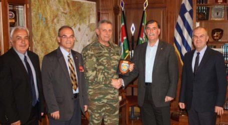Στο νέο διοικητή της 1ης Στρατιάς η Ένωση Αποστράτων Αξιωματικών Στρατού Λάρισας