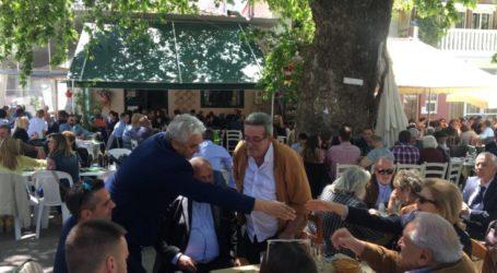 Στις εορταστικές εκδηλώσεις του Αγίου Γεωργίου Γόννων ο Κώστας Κολλάτος