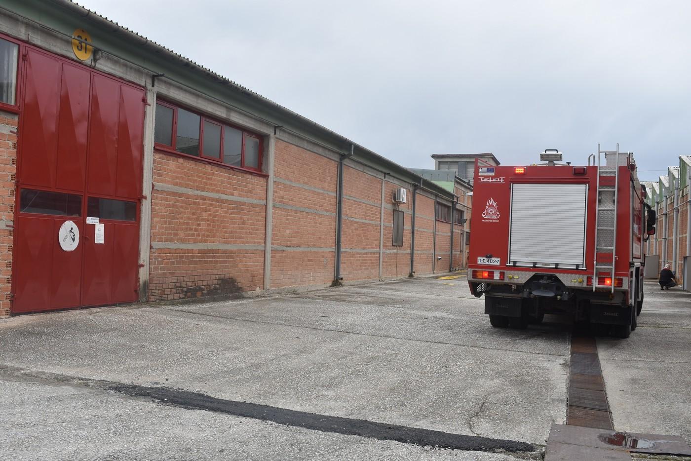 Εντυπωσιακές εικόνες από την άσκηση ετοιμότητας της Πυροσβεστικής στη βιομηχανία ΒΙΟΚΑΡΠΕΤ (φωτο - βίντεο)